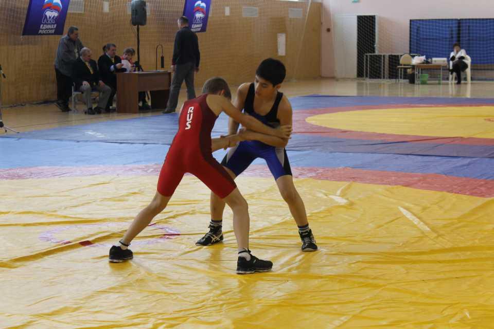 Соревнования по греко-римской борьбе в ДЮСШ «Метеор»